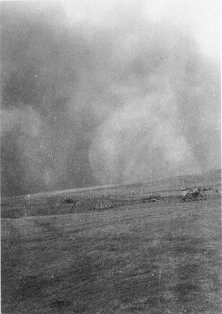Ellis Co Dust Storm